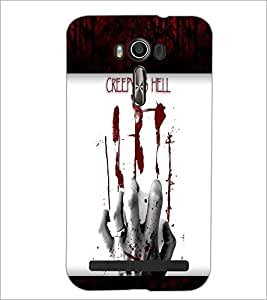 PrintDhaba Quote D-6049 Back Case Cover for ASUS ZENFONE 2 LASER ZE550KL (Multi-Coloured)