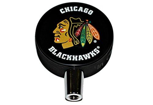Chicago Blackhawks Basic Logo Hockey NHL Puck Beer Tap Handle (Beer Tap Handle Hockey compare prices)
