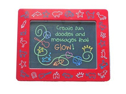 Animal Shapes Draw n Glow Doodle Board Picture Frame - 1