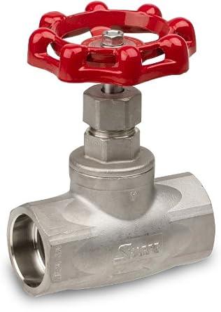 Sharpe Valves 40276 Series Stainless Steel 316 Globe valve, Screwed Bonnet, Inline, Socket Weld