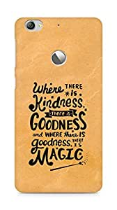 AMEZ where there is kindness there is goodness Back Cover For Letv Le 1S