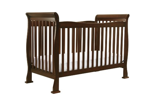 DaVinci Rivington 4-in-1 Convertible Crib with Toddler Rail - 1