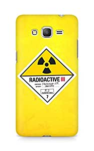 Amez designer printed 3d premium high quality back case cover for Samsung Galaxy Grand Prime (Radioactive)