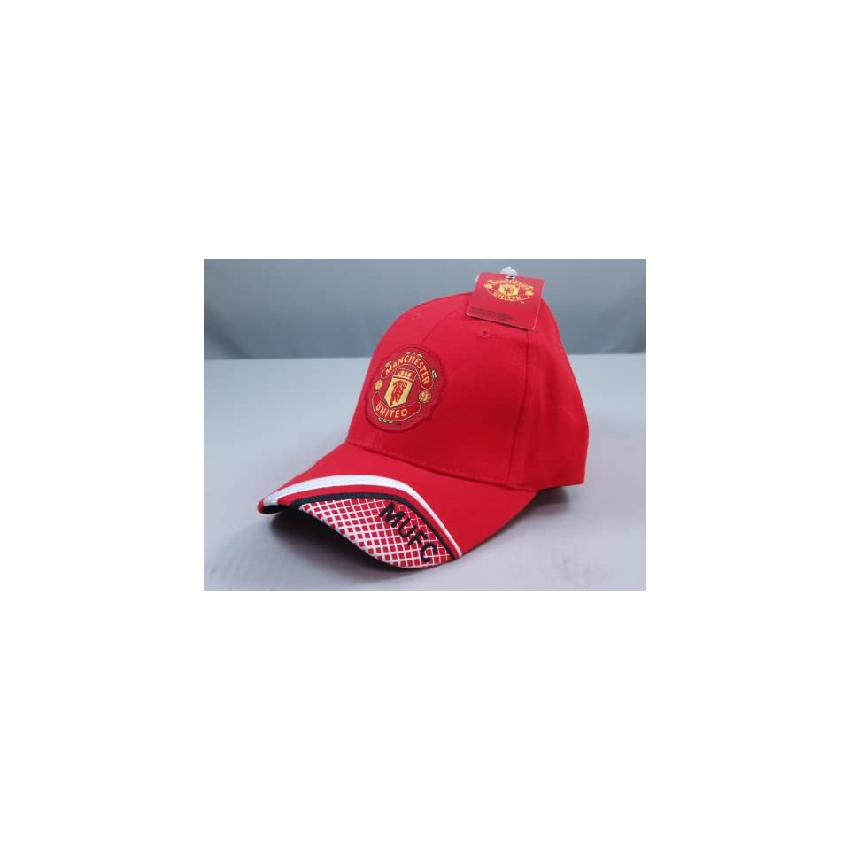 FC MANCHESTER UNITED OFFICIAL TEAM LOGO CAP / HAT   MU015