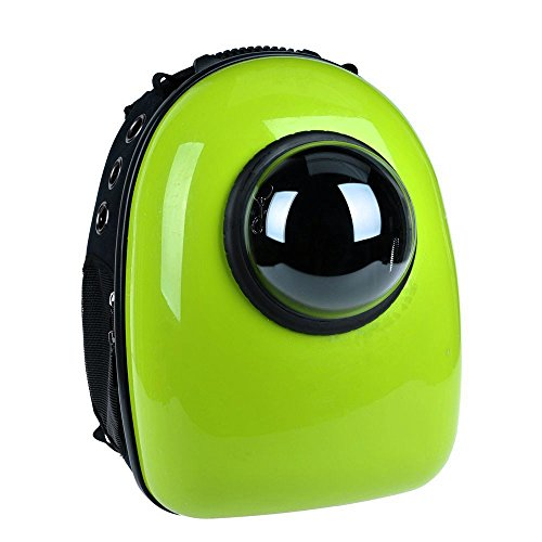 Chunnuan Shop Pet Dog Cat Puppy Carrier Traveler Bubble Backpack Travel Shoulder Bag Dog Carrier Travel Sling Bag Small Dog Backpack