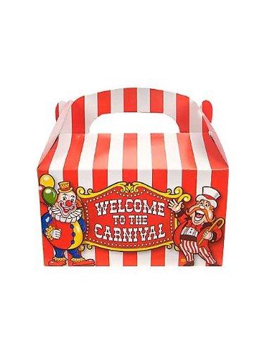 Big Top Carnival Treat Boxes - 12 per unit