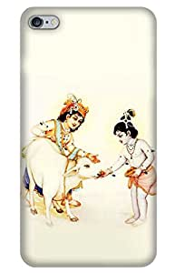 Iessential God Designer Printed Back Case Cover For Apple Iphone 6 Plus