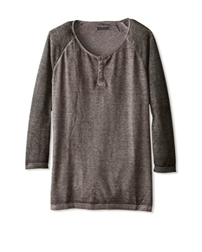 Royal Knights Men's Thermal Burnout 3/4 Sleeve Henley