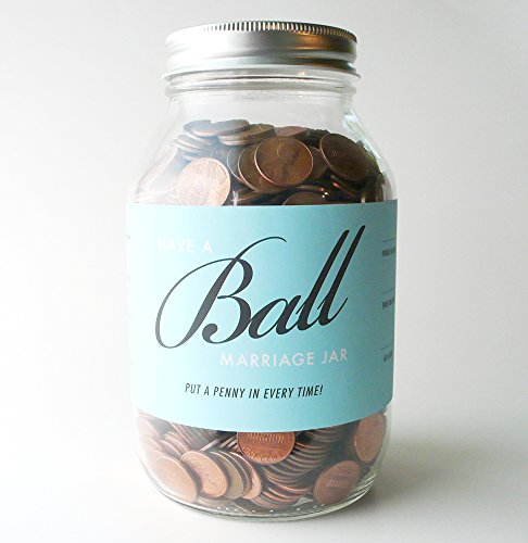 Have a Ball Marriage Jar - The Funnest Wedding Gift Ever.