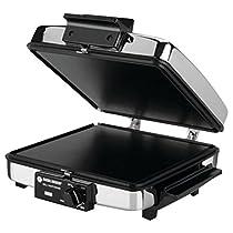 【並行輸入】Black & Decker G48TD 3-in-1 Waffle Maker & Indoor Grill/Griddle, Silver ワッフルメーカー/グリル