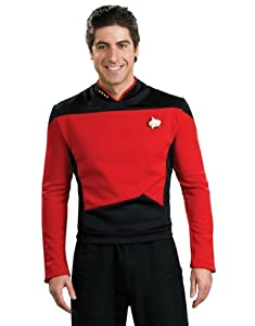 Deluxe Adult Next Generation Red Shirt Costume