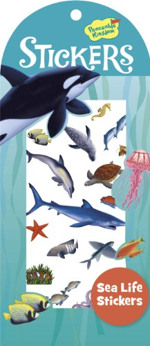 Peaceable Kingdom Sea Life Sticker Pack