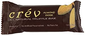 Crev Bar, Milk Chocolate, Almond, Truffle, 1.8000-ounces (Pack of 8)