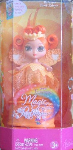 Barbie Fairytopia ORANGE Rainbow TOOTH FAIRY Doll (2006)