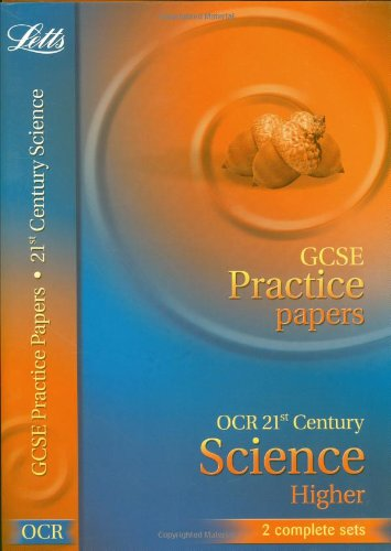 Ocr Twenty First Century (A) Science - Higher Tier (Letts Gcse Practice Test Papers)