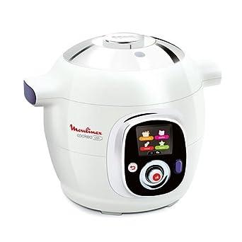 moulinex ce702100 cookeo multicuiseur intelligent usb blanc 6 l cuisine maison. Black Bedroom Furniture Sets. Home Design Ideas