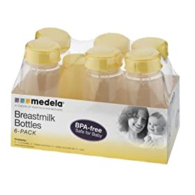 Medela Breastmilk Bottles 6-Pack - 5oz