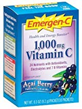 Emergen-C Acai Berry (10 packets) by Alacer Corp.