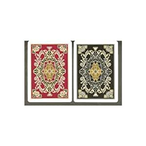 Gemaco Monarch 100% Plastic Playing Cards - 2 Decks