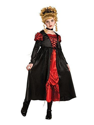 Rubies Girls Vampiress Costume Dress Choker Tiara Vampire