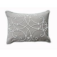 Ultra-Snob Bologna Cotton Twill Cushion Natural