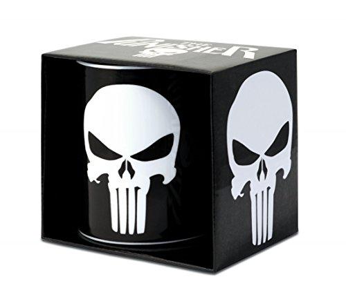 Marvel The Punisher - Tazza da caffè in ceramica - nero
