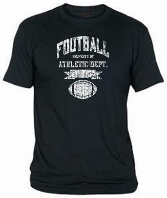 T-Shirt American Football Retro Style, Gr.4XL