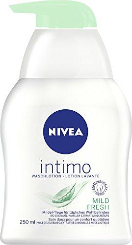 Nivea, Detergente intimo Natural Fresh, 4 confezioni (4 x 250 ml)