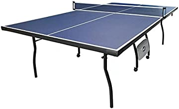 HLC Full Size Indoor Fitness Table Tennis Table with Net