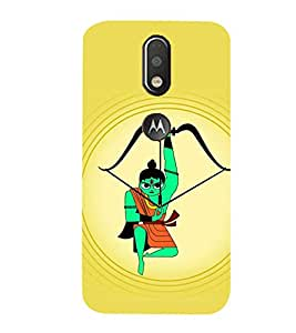 99Sublimation Lord Ram 3D Hard Polycarbonate Back Case Cover for Motorola Moto G4