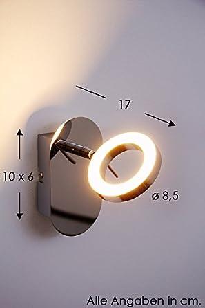 adel led wandspot 5 watt 320 lumen 3000 kelvin warmweiss db785. Black Bedroom Furniture Sets. Home Design Ideas