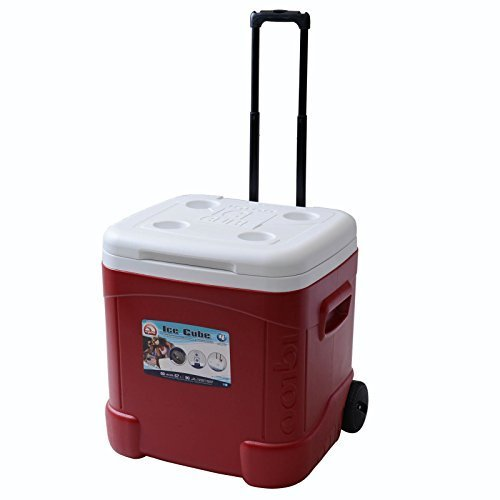 igloo-products-corporation-00045688-ice-cube-roller-cooler-60-quart-red-by-igloo