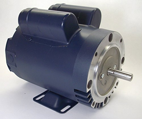 1.5 Hp 3450 Rpm 56C Frame Odp C-Face (Rigid Base) 115/208-230 Volts Leeson Electric Motor # 114214
