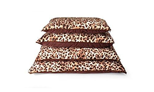 """Cuscino """"Leopard"""" sfoderabile per cani e gatti 1 pezzo"""