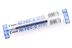 Pilot Hi-Tec-C Gel Ink Pen Refill - 0.3 mm - Blue
