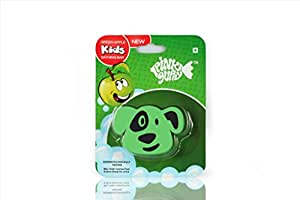 Pink Guppy Pink Guppy Kids Green apple fragrant, Cute Dog Shaped Bathing Bar for Kids