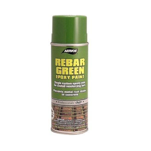 Aervoe 156 16oz Green Rebar Epoxy Coating Paint