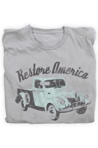 Green 3 Apparel Restore America USA-made Organic Tee