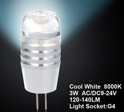 True G4-2D-3W-9/24V 3W G4 Led Spot Bulb