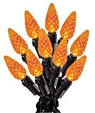 "Celebrations Inliten-k V31324-71 Sylvania Led C6 Light Set 3"" Orange"