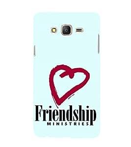 EPICCASE friends ministry Mobile Back Case Cover For Samsung Galaxy On5 (Designer Case)