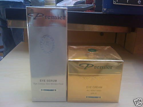 Premier Dead Sea Eye Care Set(eye Serum + Eye Cream)