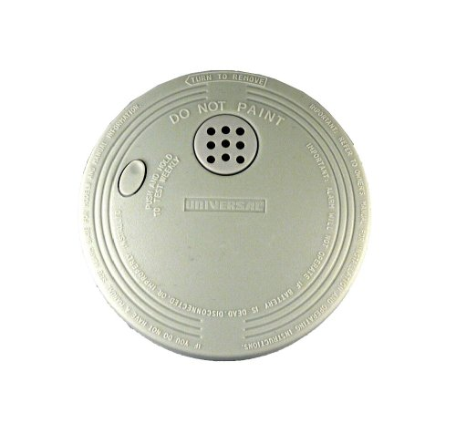 Universal Security Instruments SS-770 9-Volt Battery Micro Profile Design Ionization Smoke and Fire Alarm