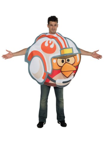 Angry Birds Star Wars Luke Fighter Pilot Adult Costume