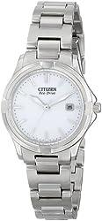 Citizen Women's EW1960-59A Silhouette Sport Silver-Tone Watch