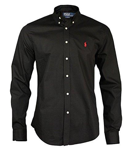 Ralph Lauren -  Camicia da cerimonia  - Maniche lunghe  - Uomo nero X-Large