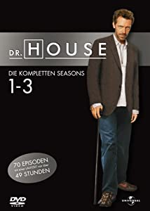 Dr. House Season Staffel 1-3  [18 DVDs]