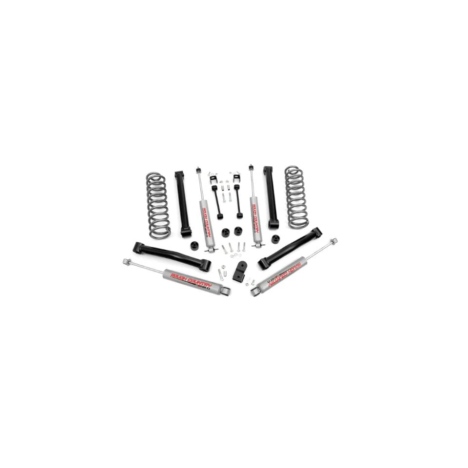 Rough Country 636.20   3.5 inch Suspension Lift Kit with Premium N2.0 Series Shocks Automotive