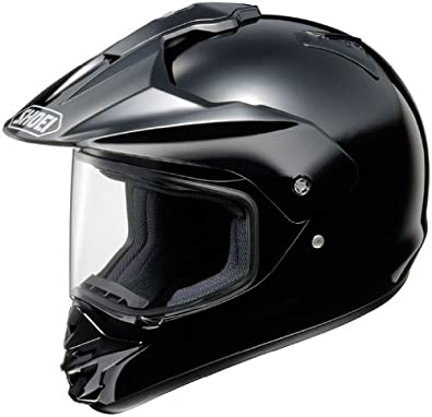 Shoei Hornet-DS Dual Sport Motorcycle Helmet Black Large L