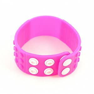 P&o Fashion Man Woman Silicone Replaceable Wrist Watch Band Pink